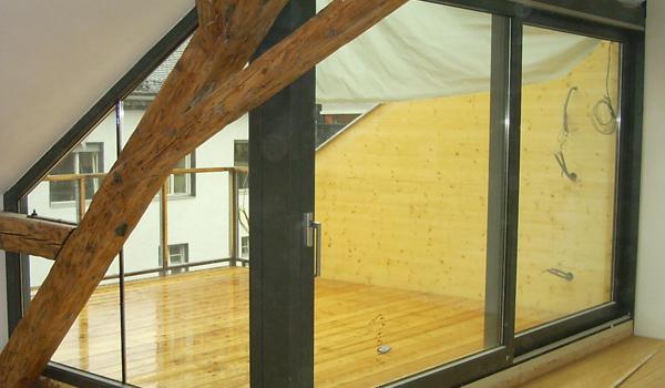 Dachbodenausbau Treppe baumeister ing hundegger innsbruck